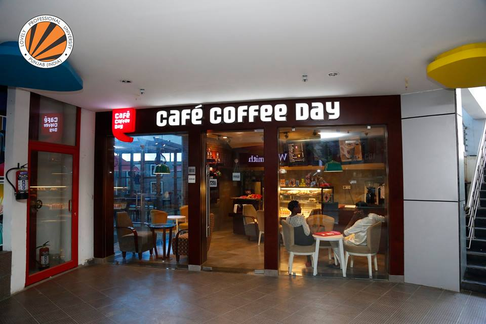 Quirks of LPU - Cafe Coffee Day