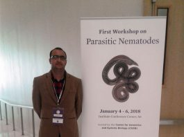 Dr Anish Kumar represents LPU at New York University