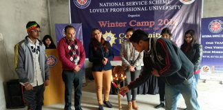 LPU-NSS Winter Camp