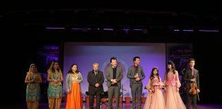 Uzbek Music Group 'Havas' Performed Live during Silk Road Show at LPU