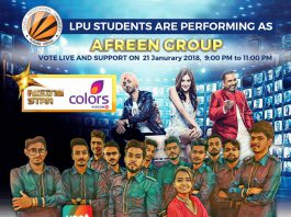 VOTE and SUPPORT LPU STARS on 'Colors TV'