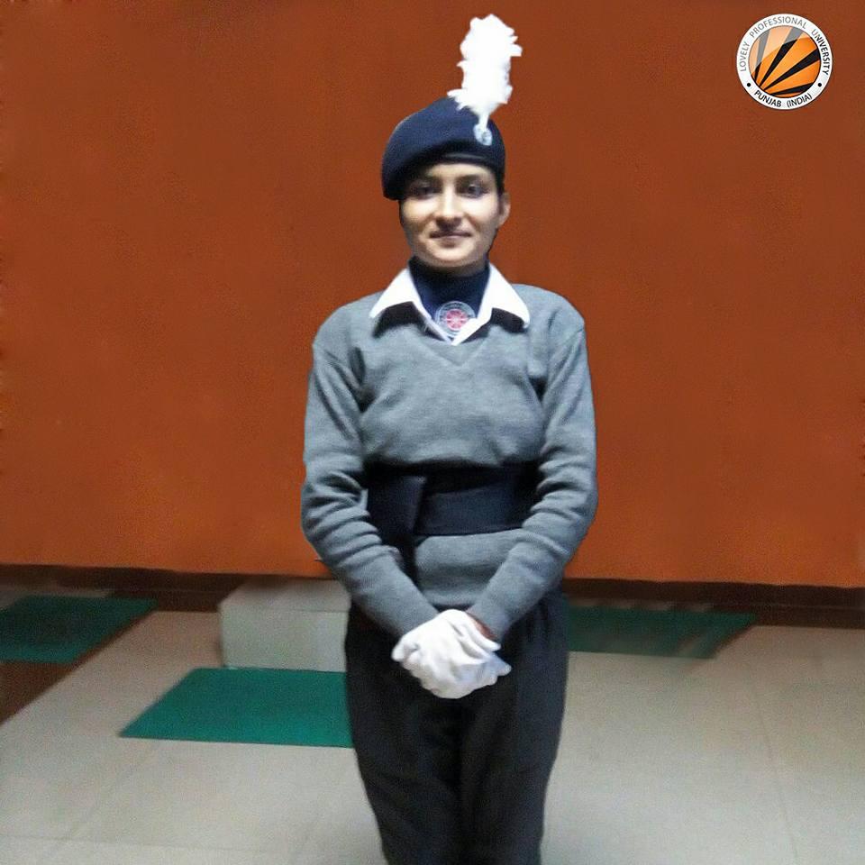 LPU Student participated in Republic Day Parade 2018