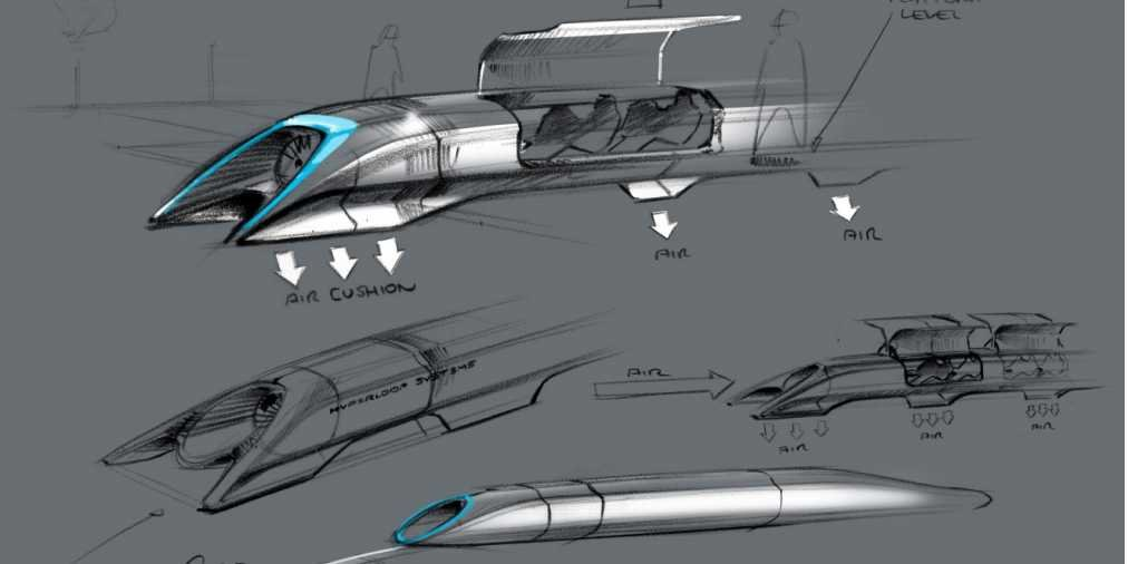 Hyperloop - future technologies