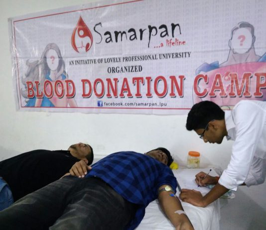 LPU-NSS thanks Blood Donors