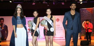 Winners for fbb Campus Princess 2018