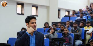 LPU Alumnus Rahul Tyagi interacted with LPU Students