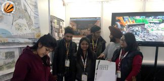 LPU's Architecture Students participate in Int Ext Expo
