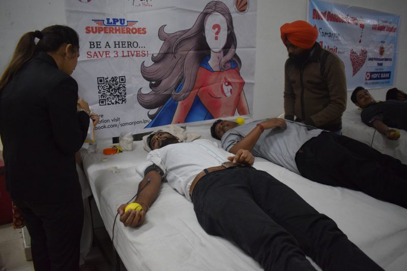 LPU-NSS is organizing Blood Donation Camp