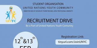 United Nation Youth Community Recruitment is on!!!