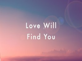 Love will find you - Valentines-Day