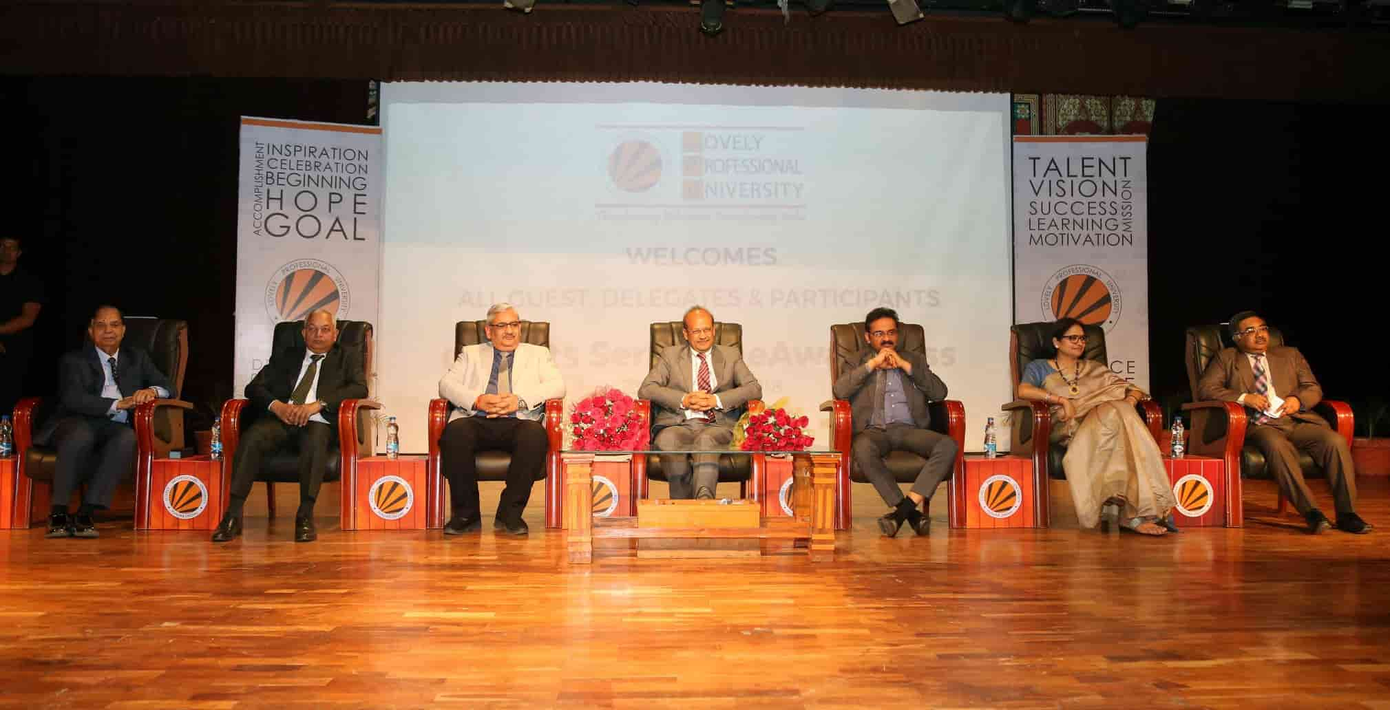 Chairman Punjab and Haryana High Court interacted with LPU Students