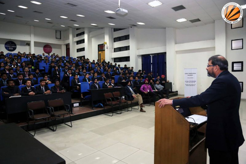 DGMO lectured LPU students about National Security