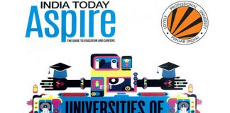 India today aspire ranks LPU as University of the Future