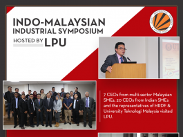 Indo-Malaysian Industrial Symposium held at LPU