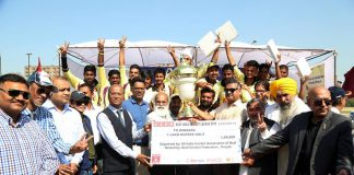 LPU hosted USHA Deaf India Cricket League (ICL) Final Match 2018