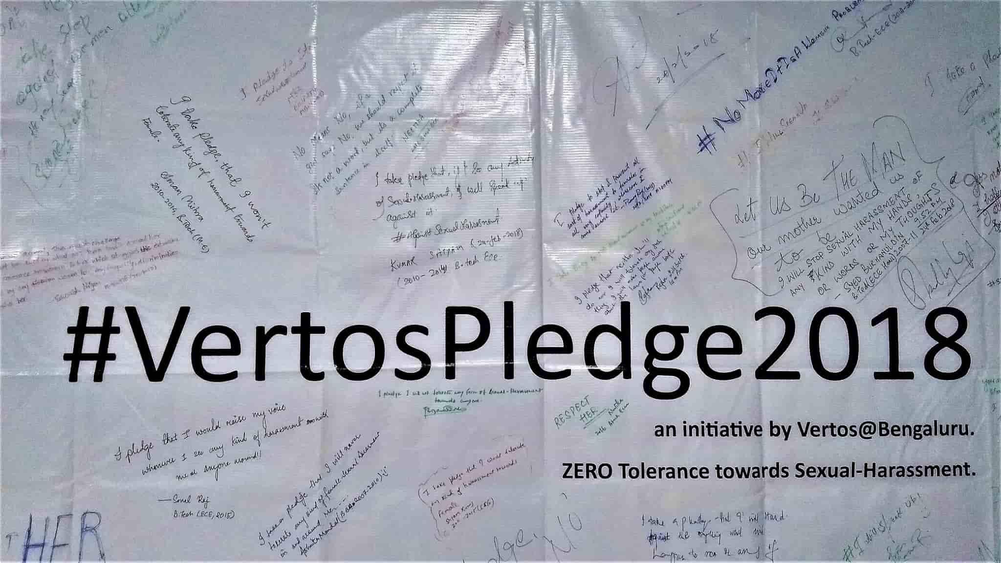 #VertosPledge2018