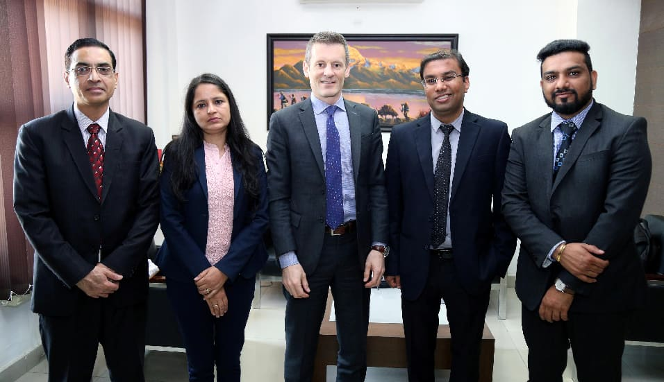 Vice-Provost of top-ranked Lakehead University of Canada visited LPU