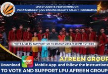 Vote for Afreen Group