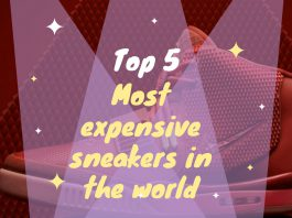 most expensive sneakers in the world