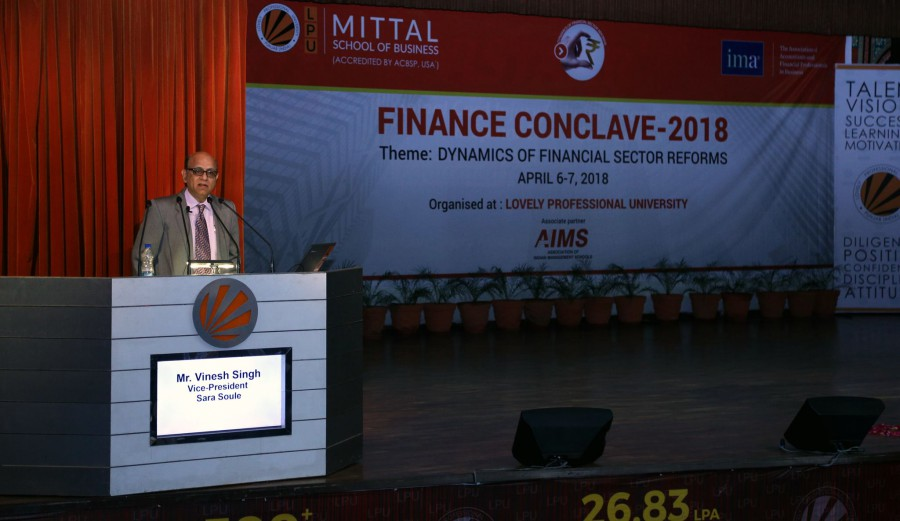 International Finance Conclave organized at LPU