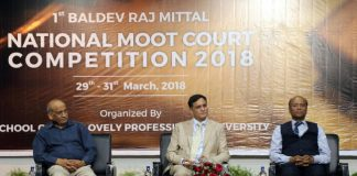 LPU organized National Moot Court Competition