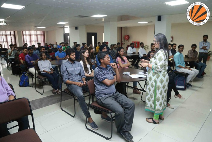 Project Manager from Goethe-Institut, Germany enlightened Students on Future of German Language