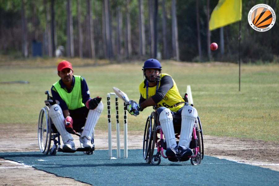 PU organizes Para-games for the SCI-affected during 'Vistaar 2018'