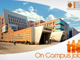 Benefits of on campus jobs - LPU