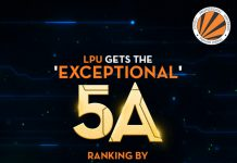 LPU ranked among Top 10 Universities and given 5A Rating by Digital Learning