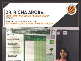 LPU Professor presented her research in Florida