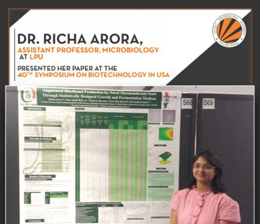 LPU Professor presented her research in Florida