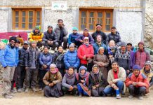 Team Global Himalayan Expedition and Mountain Homestay (Credit Team MHE)