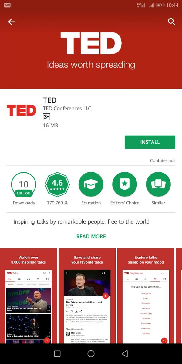 TED - Life Saving Apps For College Students