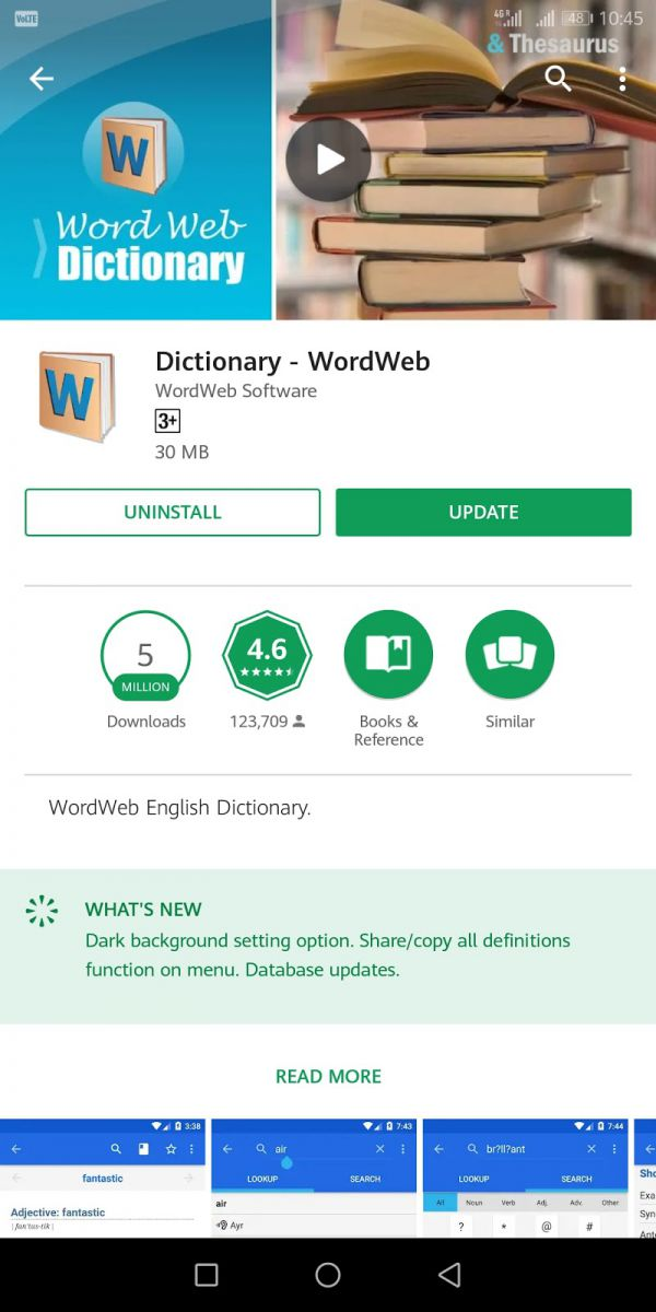 Wordweb - Life Saving Apps For College Students