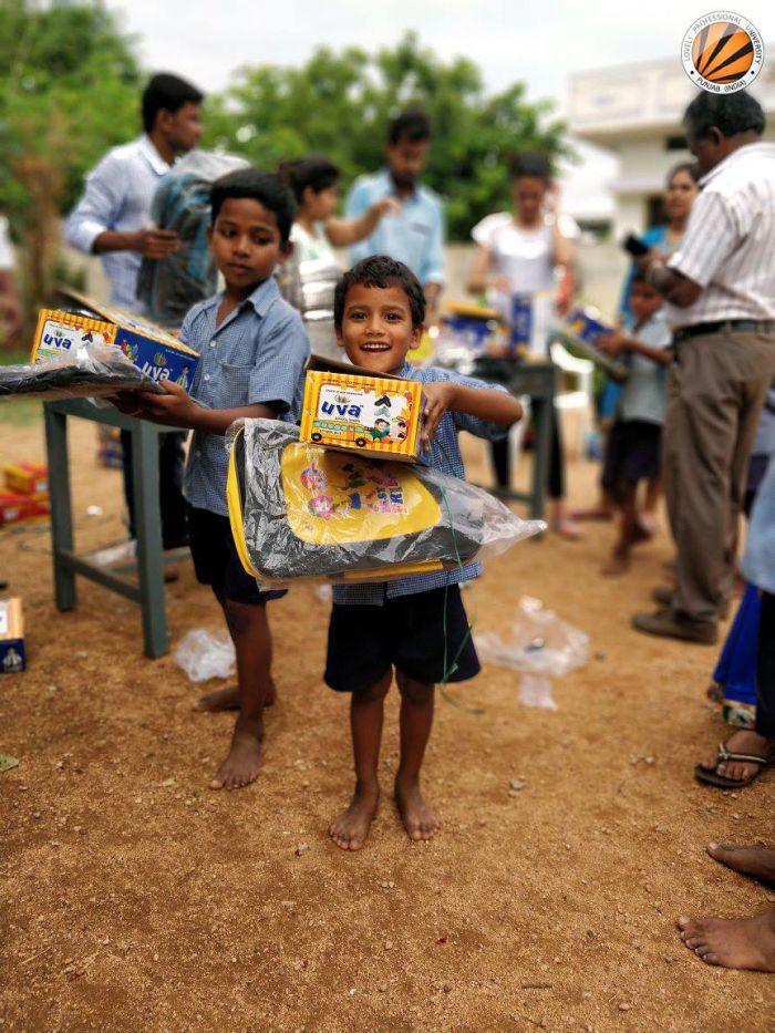 LPU Hyderabad Alumni set an Inspiration by Supporting Underprivileged Children