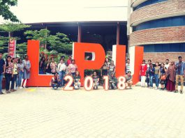 freshmen induction 2018 at LPU
