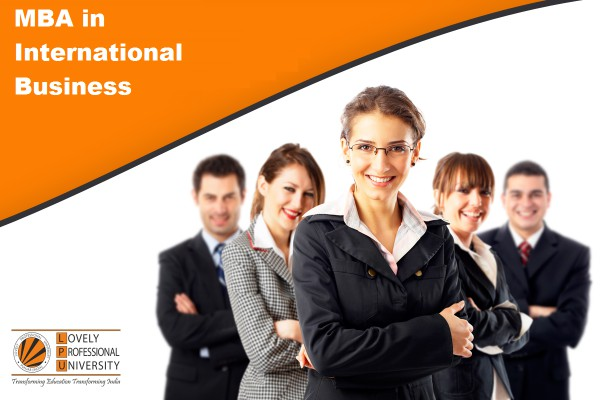 scope of MBA in International Business