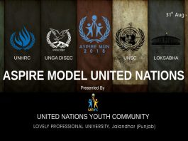 Aspire Model United Nation, Lovely Professional University