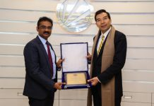 Chinese Ambassador to India Visited Lovely Professional University