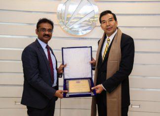 Chinese Ambassador to India Visited Lovely Professional University