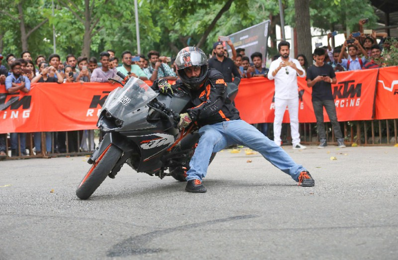 DJ Melodies and Bike Stunts Enthralled LPU Students
