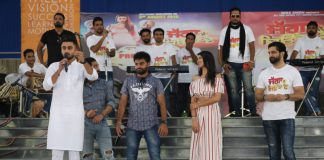 "Star Cast of Punjabi Movie ""Jagga Jiunda E"" Enthralled LPU Students"