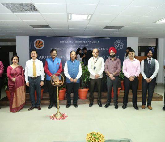 LPU Hosted AIU Inter-University National Seminar 2018