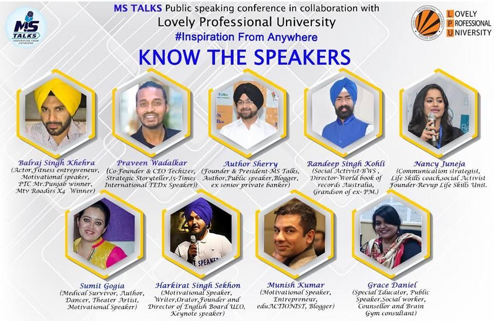 MS Talks at LPU University