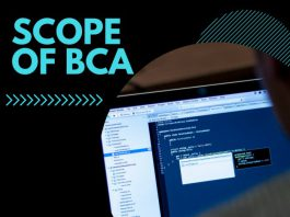 Scope of BCA