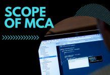 Scope of MCA