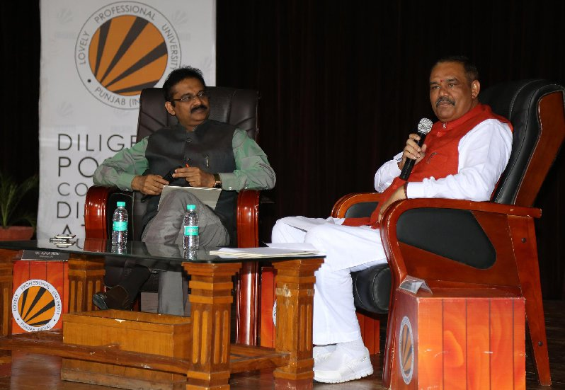 Minister of State for Social Justice Empowerment Vijay Sampla Had an Open-Dialogue with LPU Students