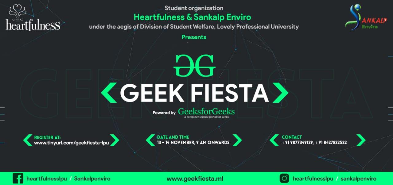 GEEK FIESTA: a 24-Hour Hackathon at LPU | November 13-14