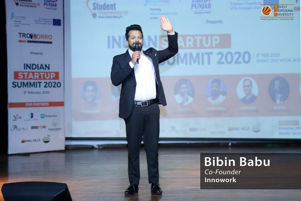 Indian Startup Summit 2020 at LPU
