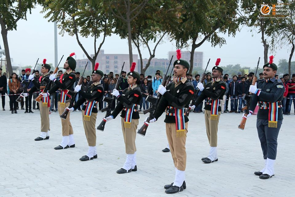 LPU Pays Tribute to Pulwama Attack Martyrs